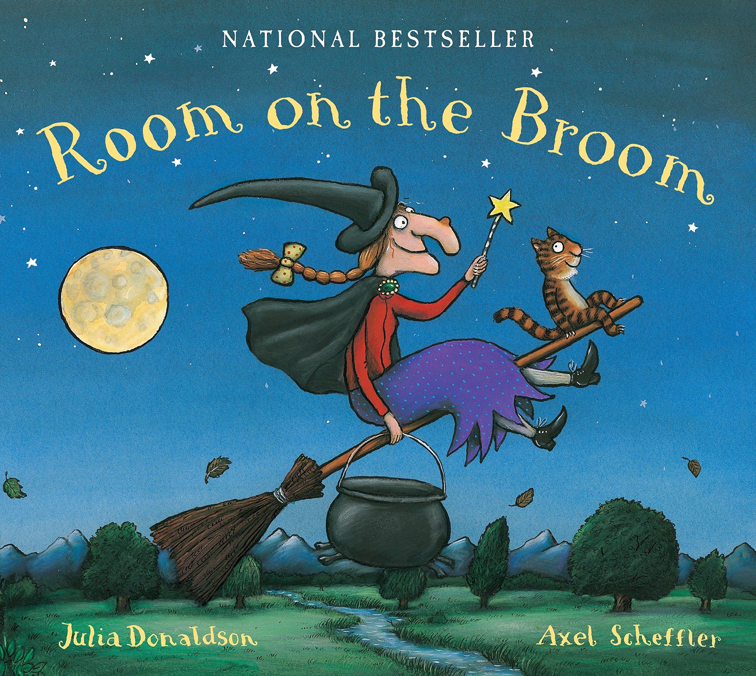 Room on the Broom Lap Board Book por Julia Donaldson