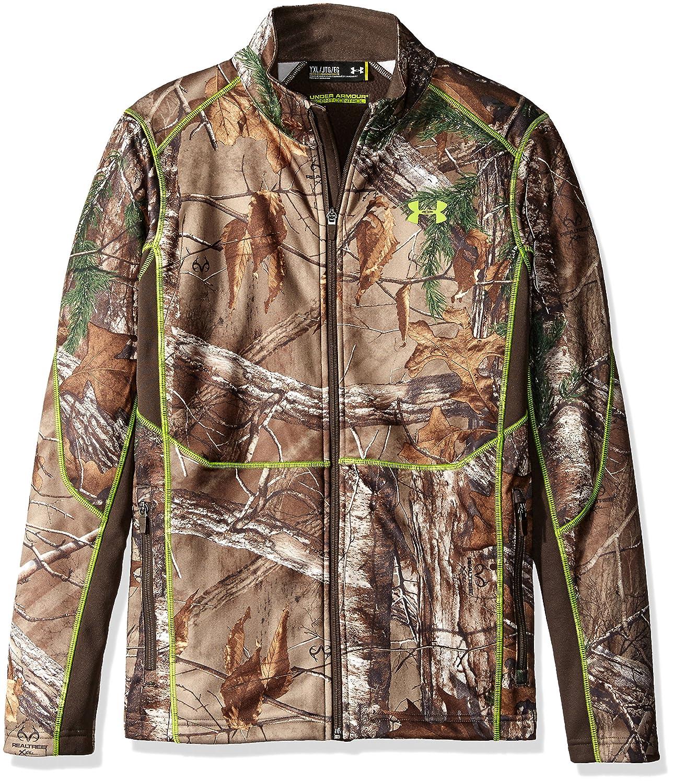 39e566047e8f7 Amazon.com: Under Armour Boys' Scent Control Camo Jacket: Sports & Outdoors