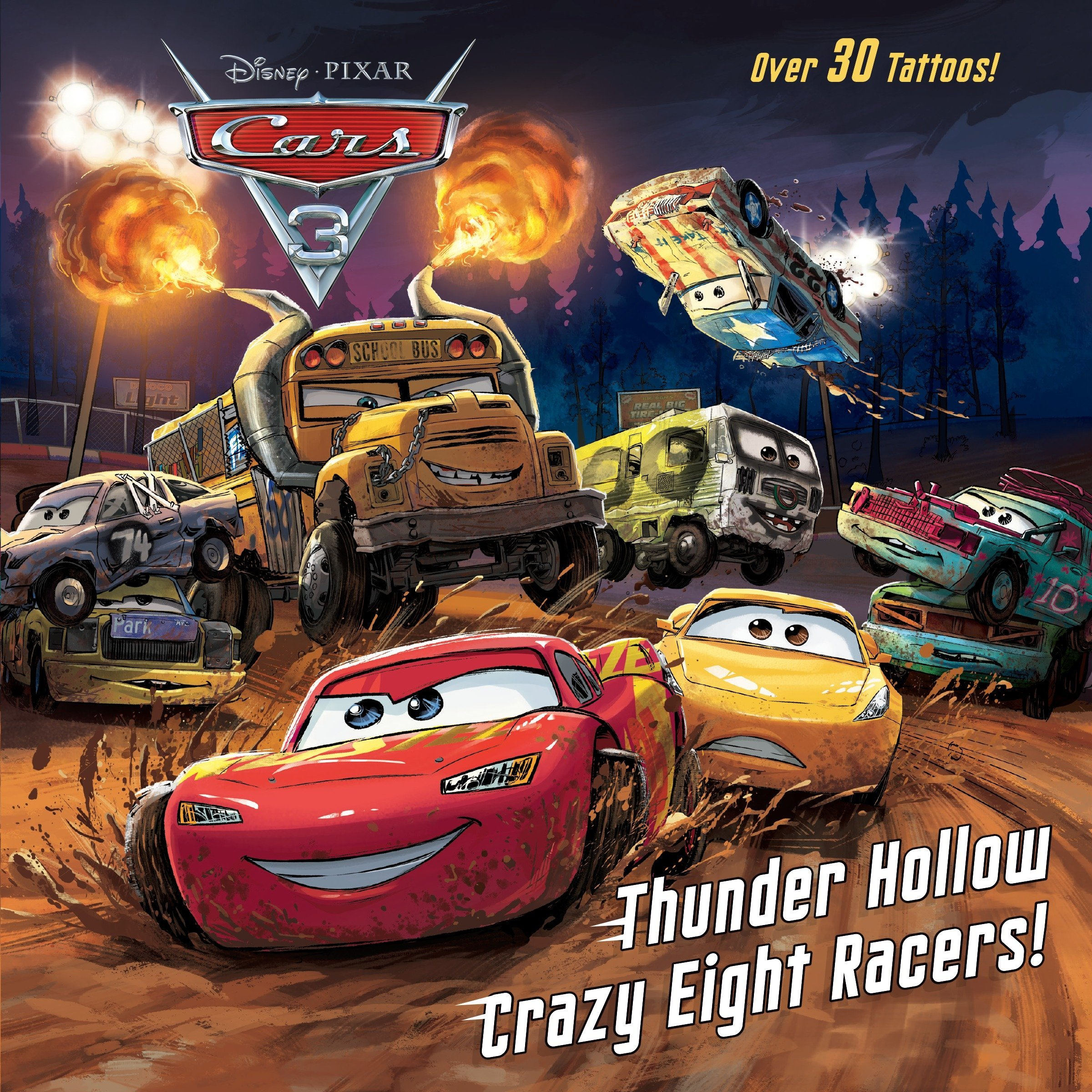 Thunder Hollow Crazy Eight Racers! (Disney/Pixar Cars 3) (Pictureback(R)) pdf