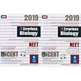 Errorless Biology for NEET (Set of 2 Volume) 2019 Edition by Universal Books Depot (UBD 1960)
