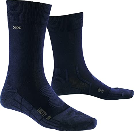 X-Socks Funktionssocken Liberty - Calcetines para hombre, color negro, talla 37/