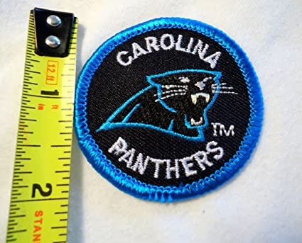 outlet store sale bfaa0 b0b4f Amazon.com: Carolina Panthers NFL Football Embroidered Iron ...