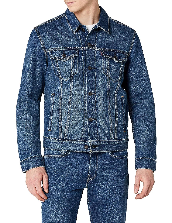 TALLA M. Levi's The Trucker Jacket Chaqueta vaquera para Hombre