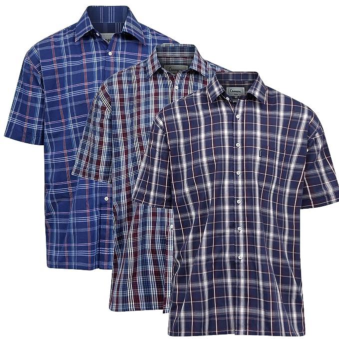 Champion - Camisa Casual - para Hombre M- 102 cm  Amazon.es  Ropa y  accesorios 74875791d00