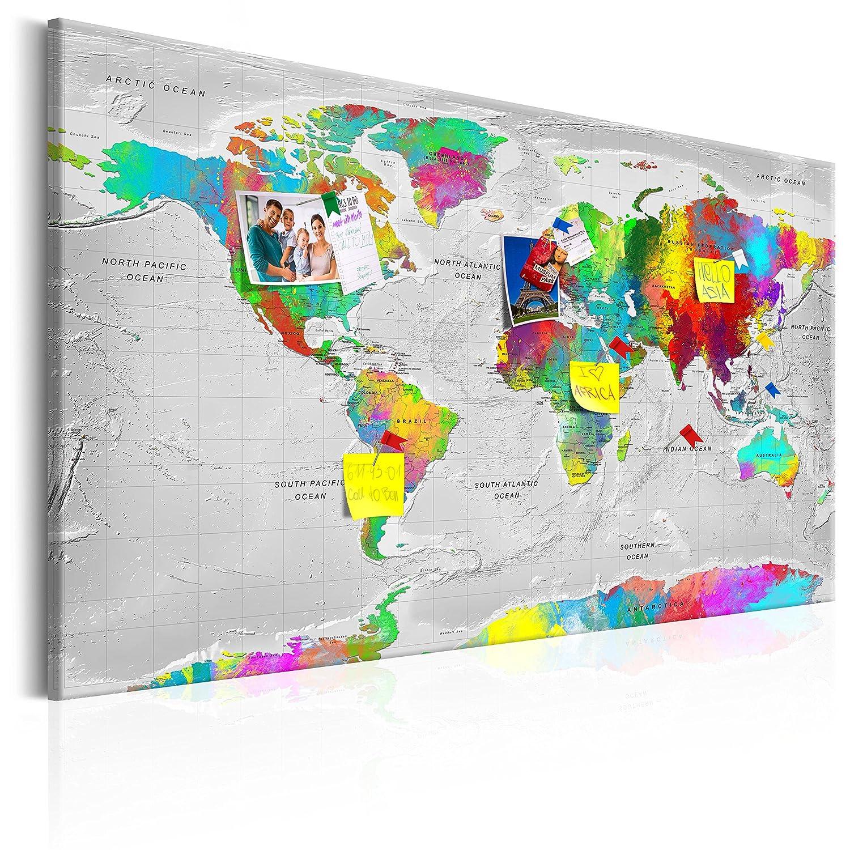Cuadros de Mapa Mundi
