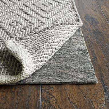 RUGPADUSA, Anchor Grip, 2'x16', 1/8  Thick, Felt + Rubber, Low Profile Non-Slip Runner Rug Pad, Available in 3 Thicknesses, Many Custom Sizes, Safe for All Floors