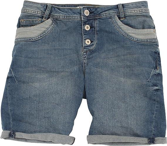 Eight2Nine Damen Jeansshort Short Jeans Bermuda 5 Pocket by FRM