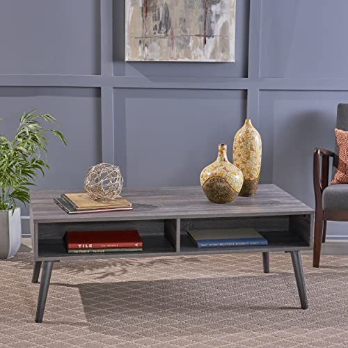 Deal of the week: Christopher Knight Home Andy Mid Century Modern Fuax Wood Overlay Coffee Table