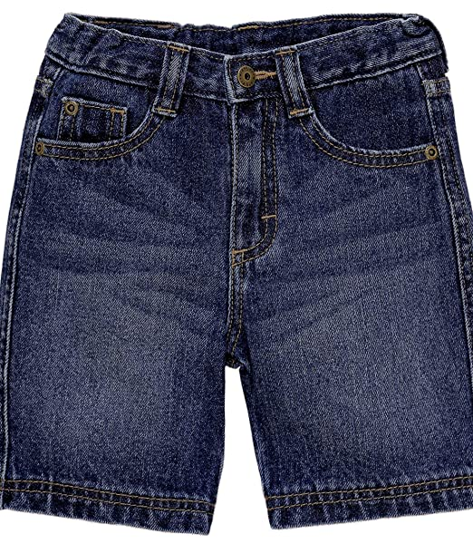 8ace037ba Image Unavailable. Image not available for. Color: Wrangler Toddler Boy  5-Pocket Slim Straight Denim ...