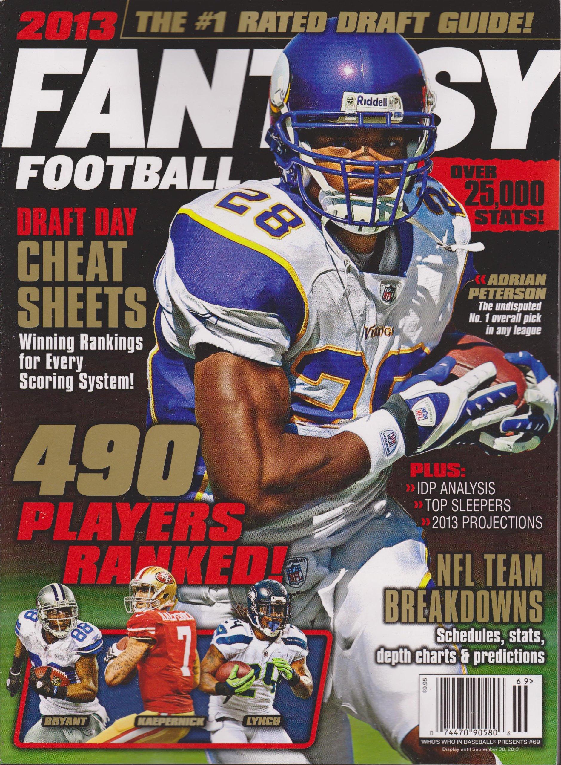 Read Online 2013 Fantasy Football Magazine ebook