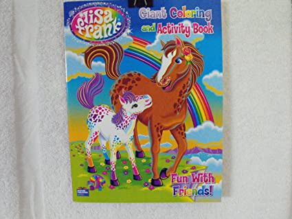 - Amazon.com: Lisa Frank Coloring & Activity Book ~ 96 Pages (Horse & Colt  Cover)~ Fun With Friends: Toys & Games