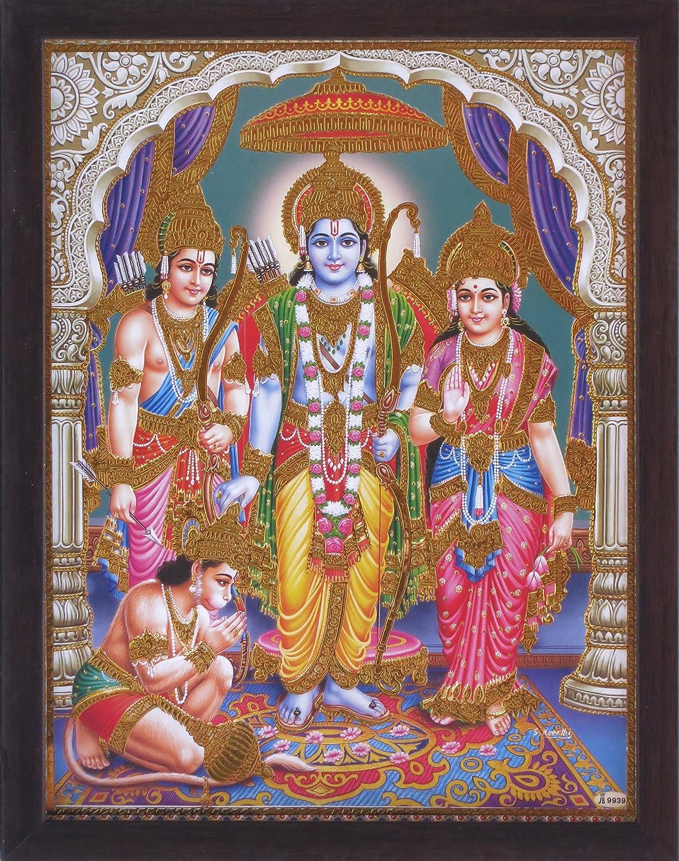 Amazon com - Hanuman Ram Darbar, A Holy and Hindu Religious