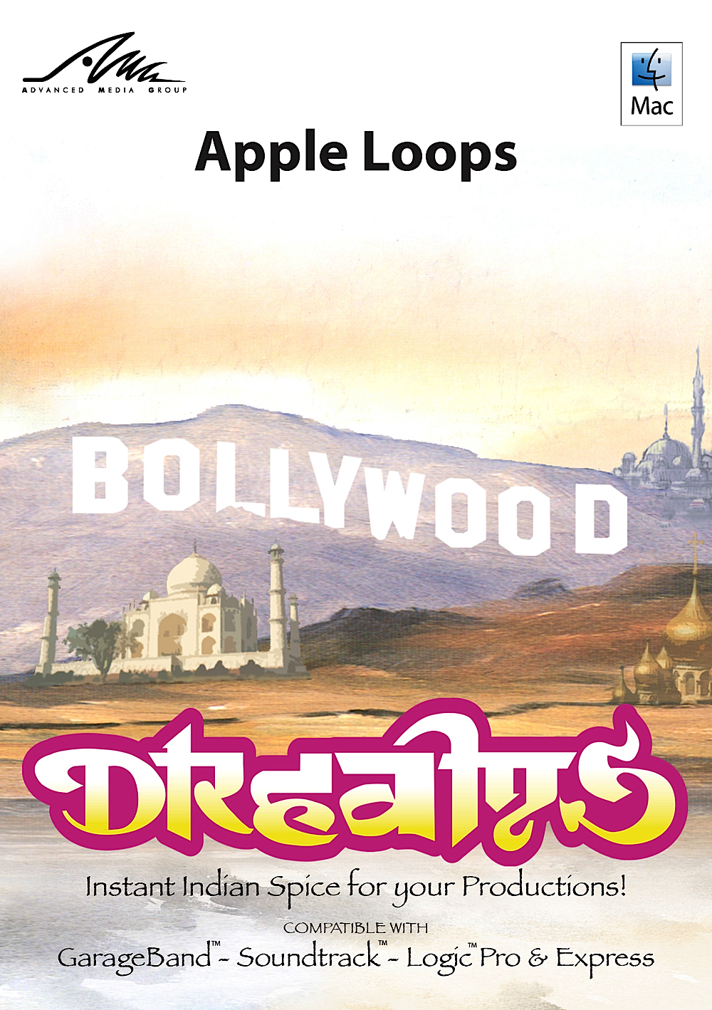 Bollywood Dreams - New Ethnic Fusion Apple Loops for GarageBand ()