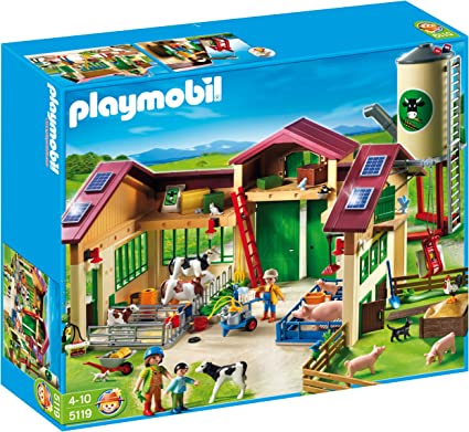 Amazon.com: Playmobil Granero con silo: Toys & Games