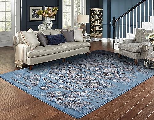 Luxury Distressed Area Rugs Blue Hallway Runner Rugs 2×7 Runner Rug for Hallway 2×8