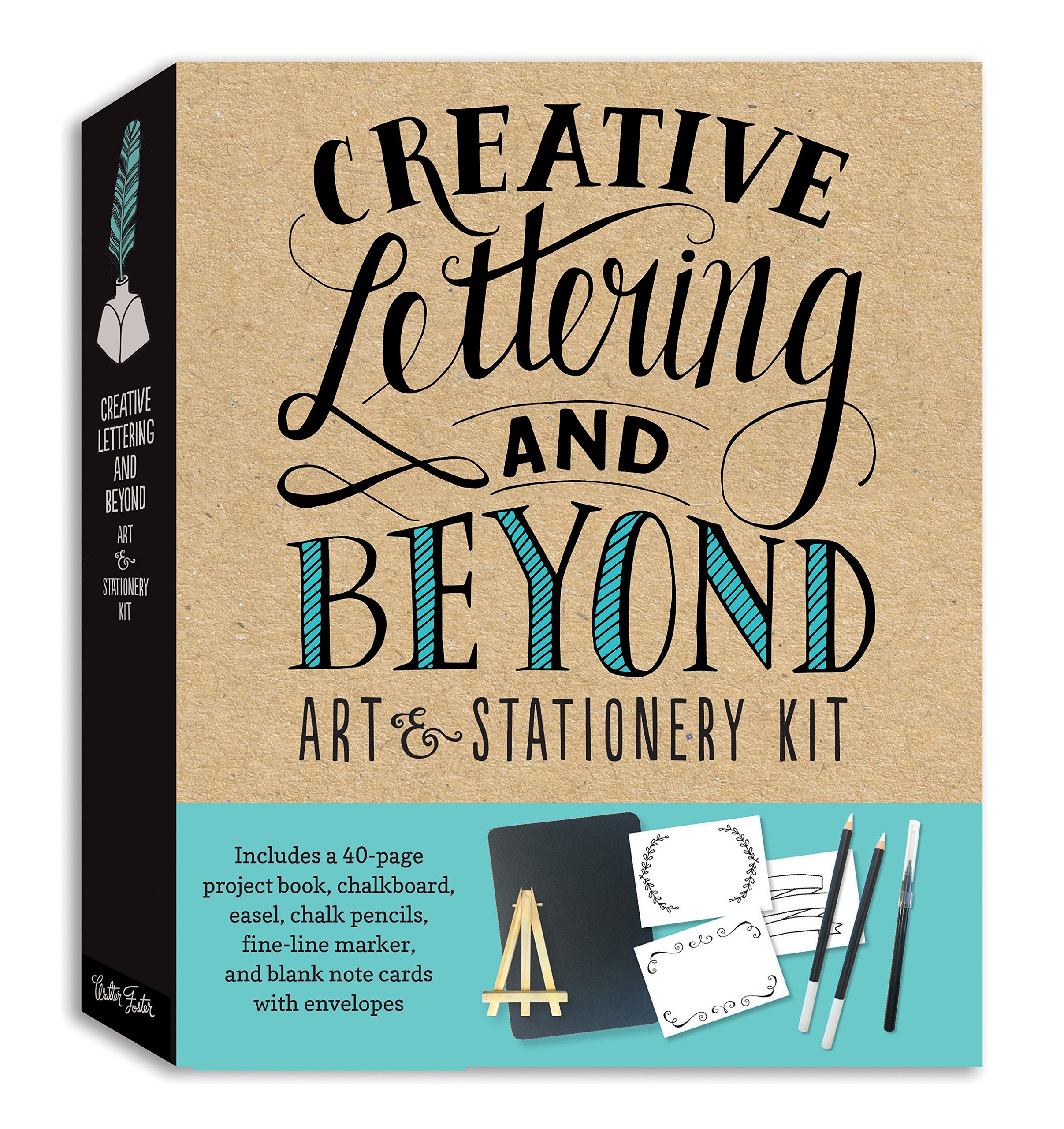 Creative Lettering and Beyond Art & Stationery Kit: Includes ...