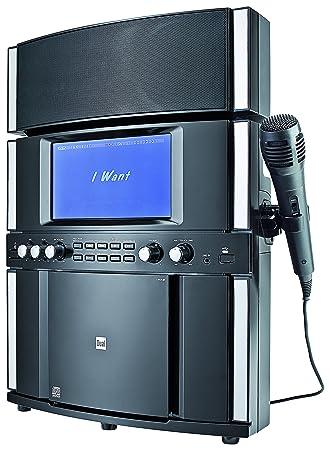 Dual DK 200 Stereo Karaoke System (Farbdisplay zur Liedtextanzeige ...