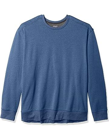 7121fd7f91 Van Heusen Men s Big and Tall Flex Sweater Fleece Crewneck