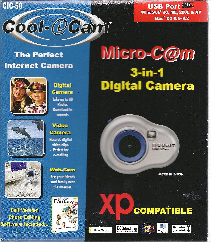 Amazon.com : microcam Cool-iCam CIC-50 : Digital Cameras : Camera & Photo
