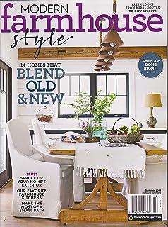 Modern Farmhouse Style Magazine Summer 2017