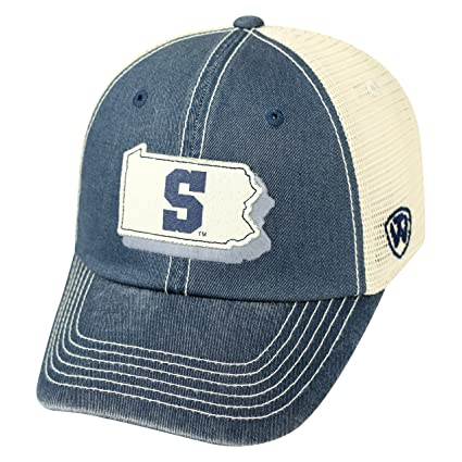 on sale 9504c 704ff NCAA Penn State Nittany Lions Adult United Adjustable Hat,Osfa,Navy Tan