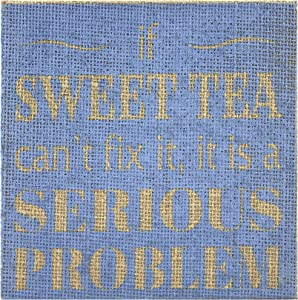 Fetco Home Décor Sweet Tea Decorative Frame, 6
