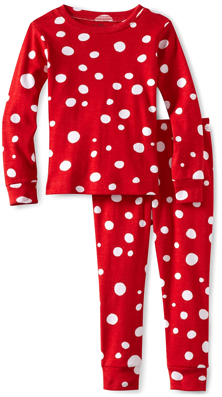 6930553d6 Amazon.com  Hatley Big Girls  Dots On Pajama Set