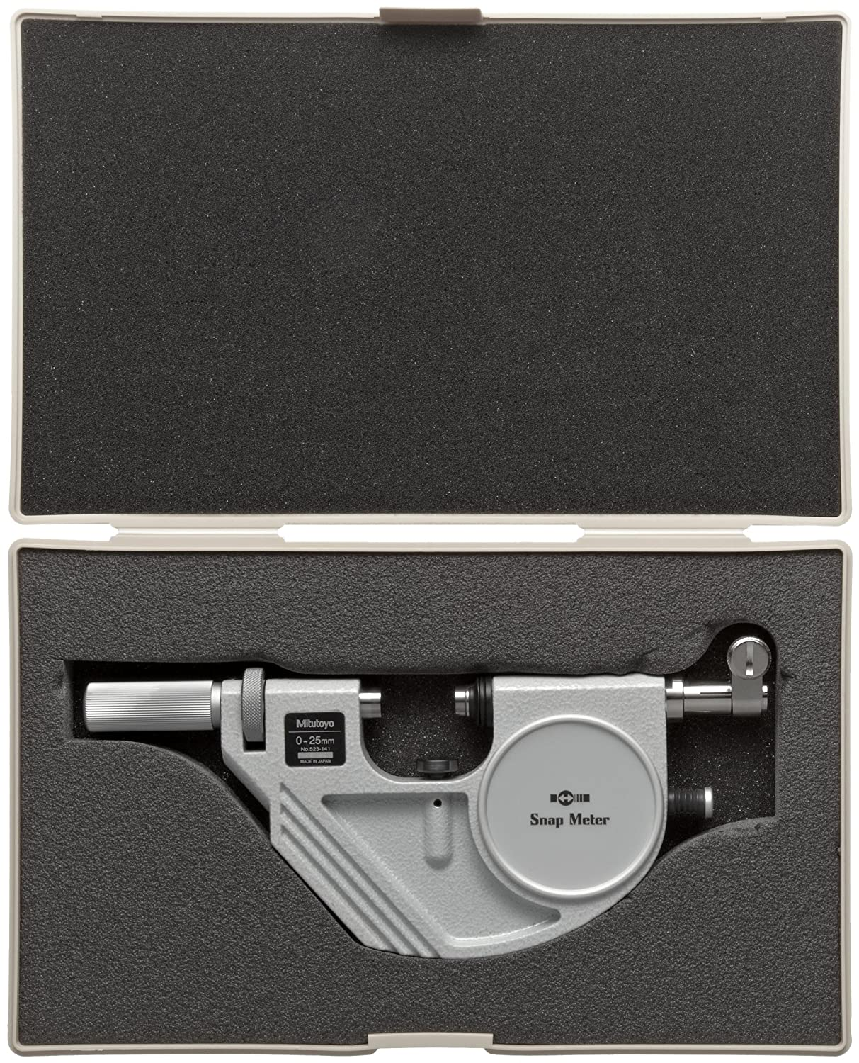 """Mitutoyo 523-107 Snap Meter With Storage Case 0-1/"""" Capacity for sale online"""