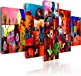 murando - Quadro 200x100 cm - 5 Parti - Quadro su tela fliselina - Stampa in qualita fotografica- 051447
