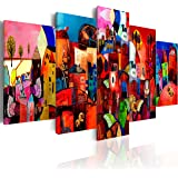 Quadro 200x100 cm - 5 Parti - Quadro su tela fliselina - Stampa in qualita fotografica- 051447 200x100 cm B&D XXL