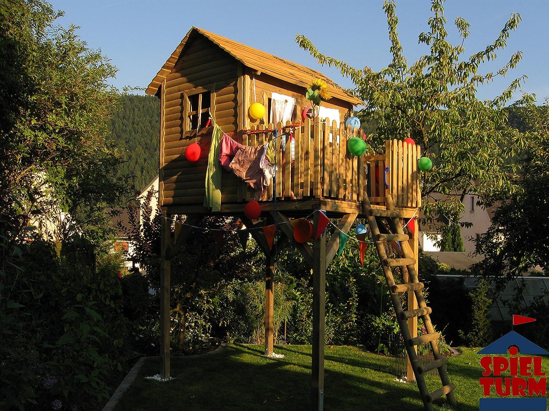 HOQ Premium Stelzenhaus / Baumhaus Junior