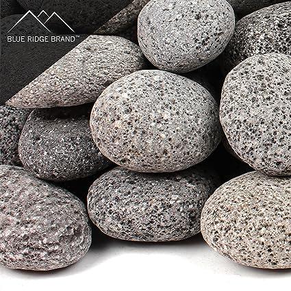 Blue Ridge Brand™ Lava Rock - 50-Pound Tumbled Lava Stones for Fire  Pit - Amazon.com: Blue Ridge Brand™ Lava Rock - 50-Pound Tumbled