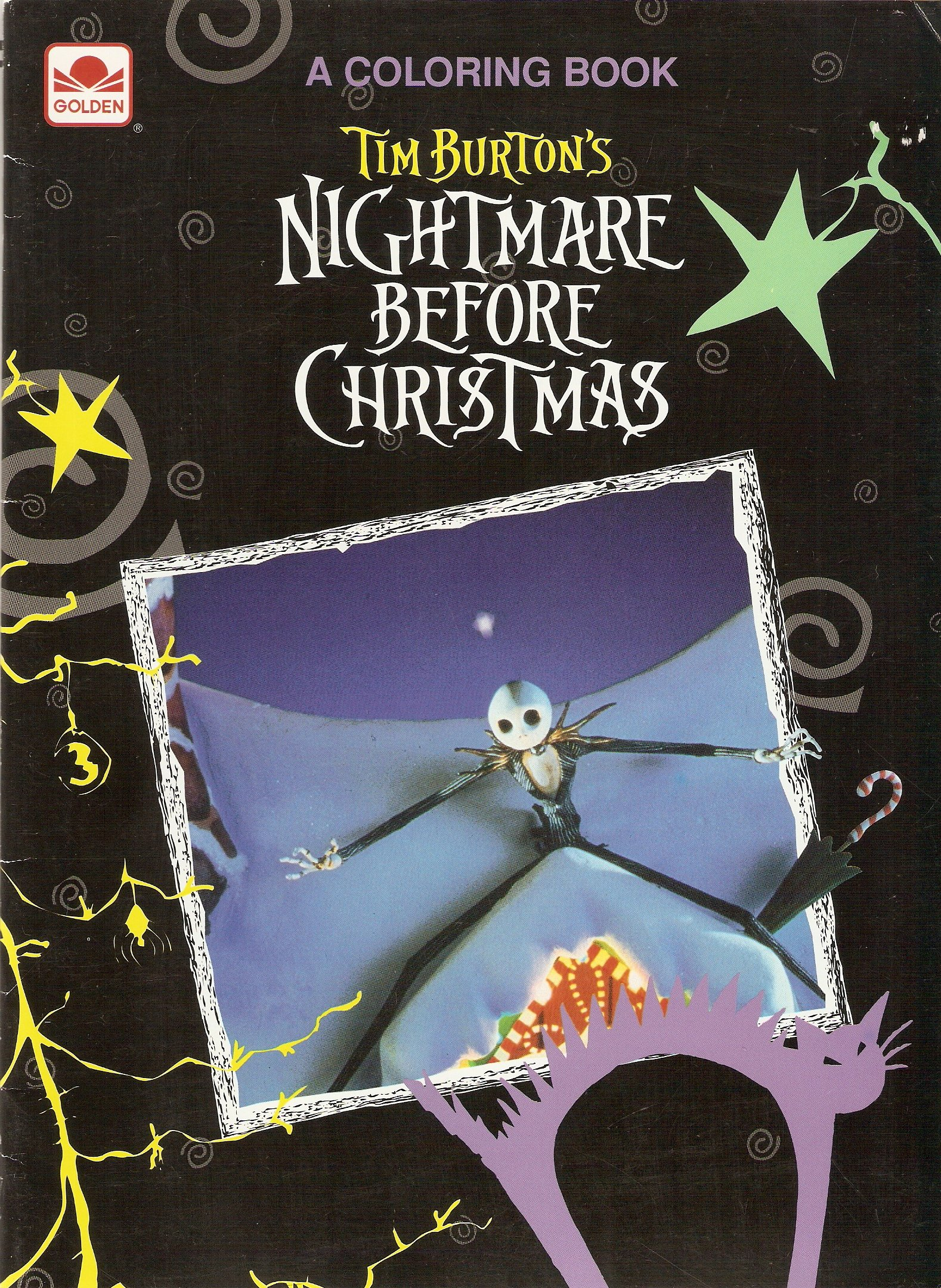 Nightmare Before Christmas: Coloring Book: Tim Burton, Walt Disney ...