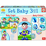 Educa Borrás - Set Baby 3 en 1, puzzle (17058)