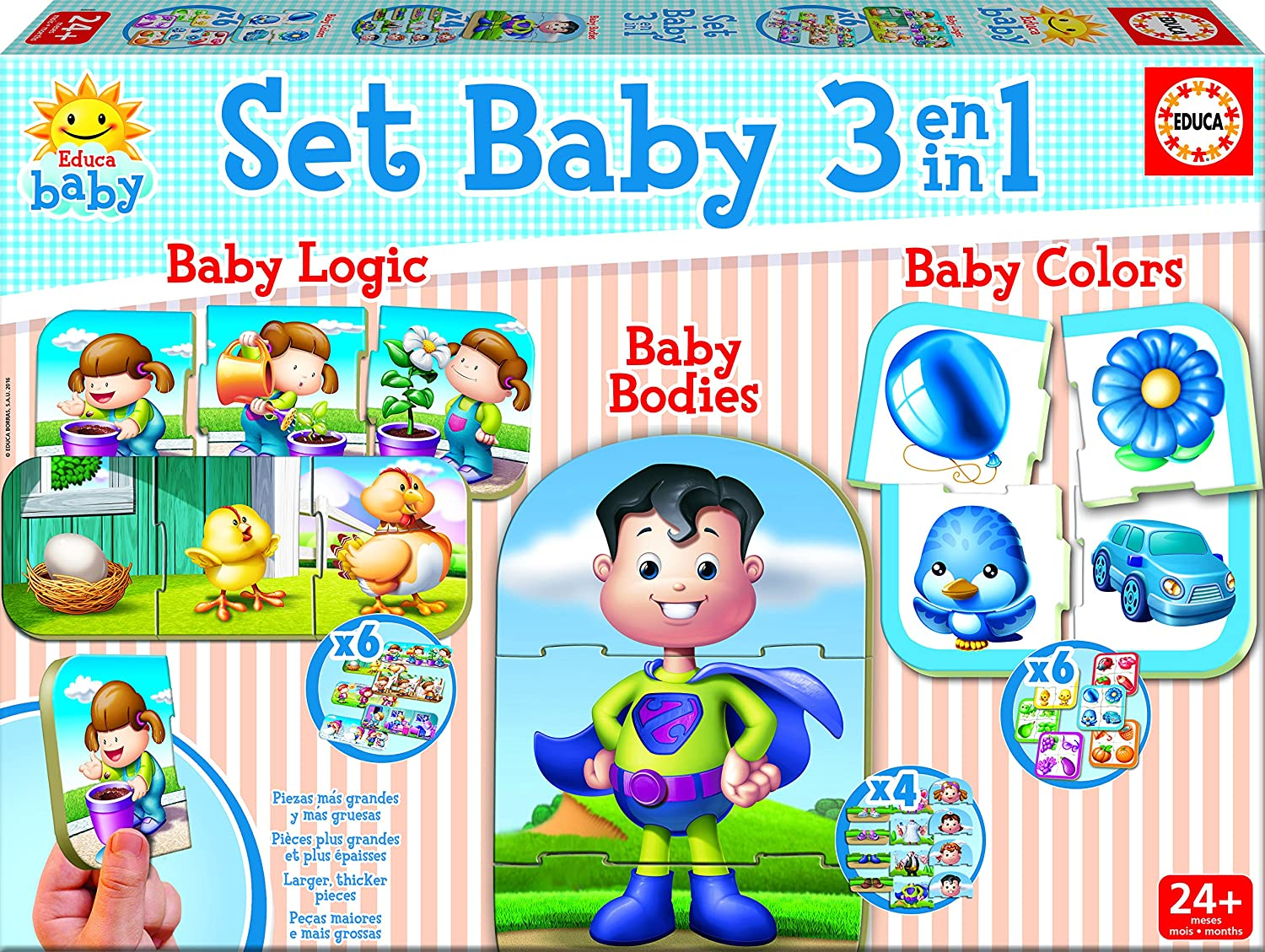 Educa Borrás Set Baby  puzzle