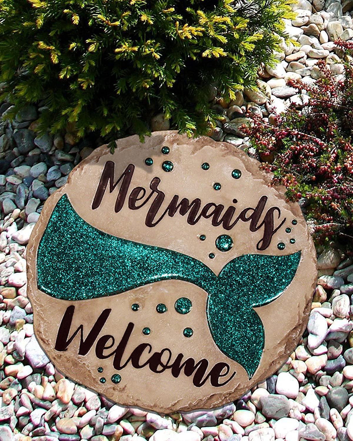 Spoontiques 13263 Mermaid Stepping Stone, 1 EA
