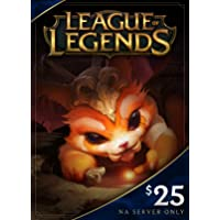 League of Legends $25 Gift Card – 3500 Riot Points - NA Server Only [Online Game Code]