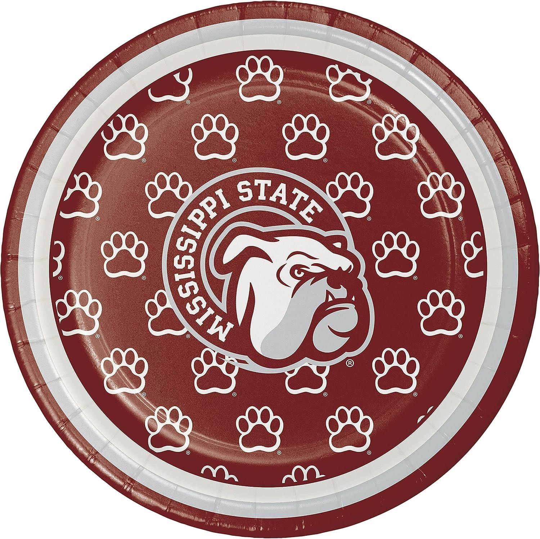 Mississippi State University Dessert Plates, 24 ct