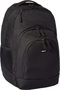 AmazonBasics Campus Laptop Backpack - Black