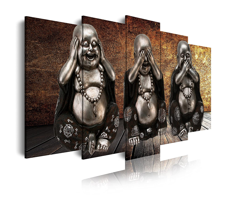DEKOARTE - Modernes Bild Buddha Zen 114, 150 x 80 cm