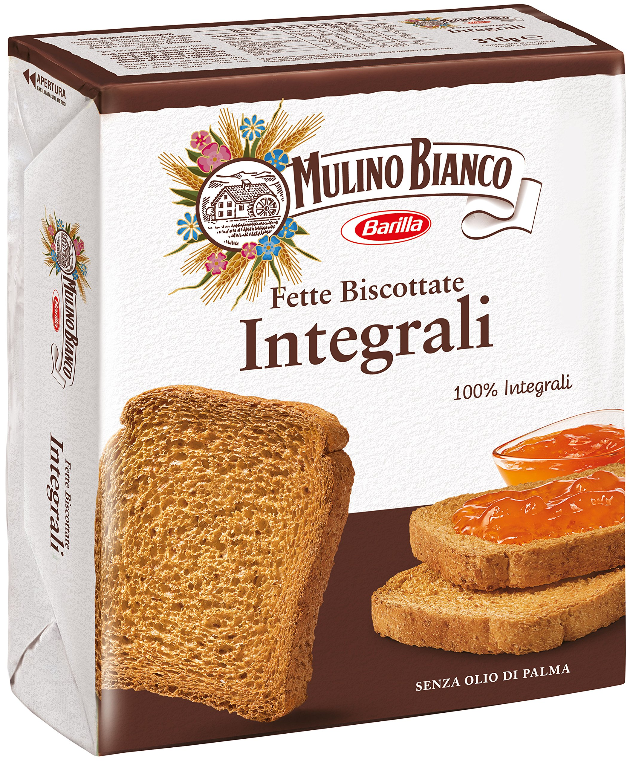 Mulino Bianco Wholemeal French Toast (315G) by Mulino Bianco