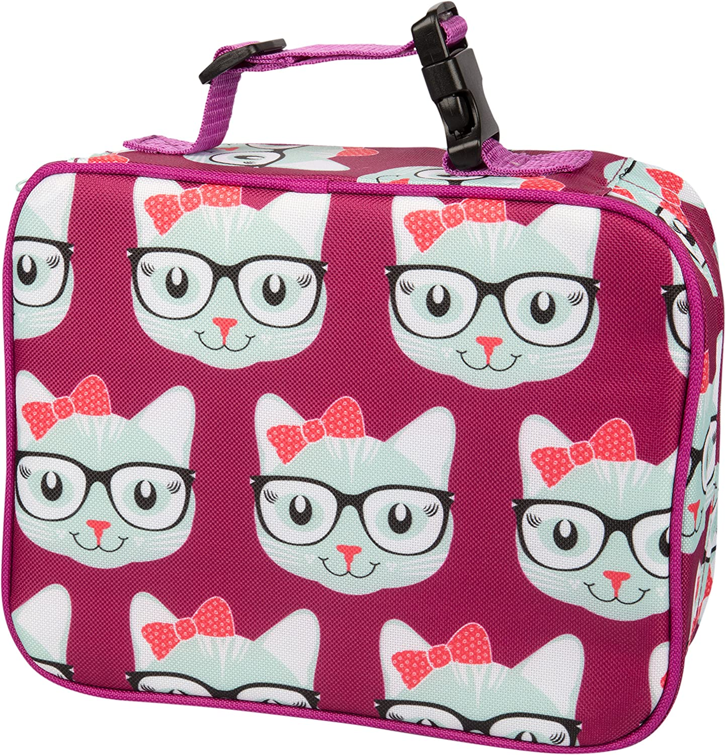 Bentology Lunch Box for Girls - Kids Insulated Lunchbox Tote Bag Fits Bento Boxes