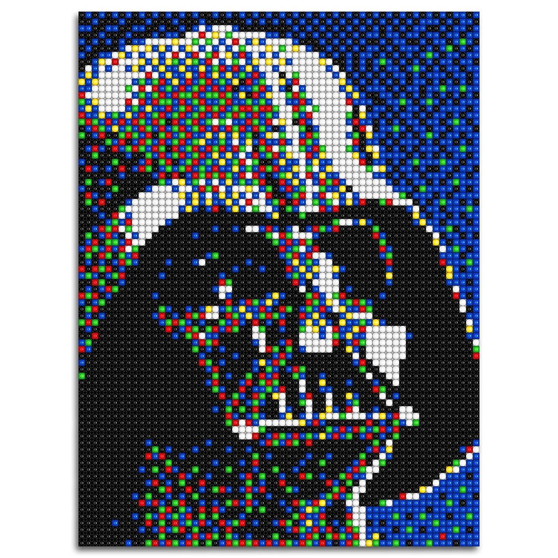 Amazoncom Quercetti Q0855 Pixel Art 4 Darth Vader