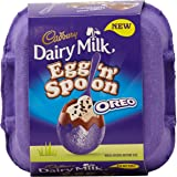 Cadbury Dairy Milk Egg 'n' Spoon with Oreo (4 eggs to share) 136g