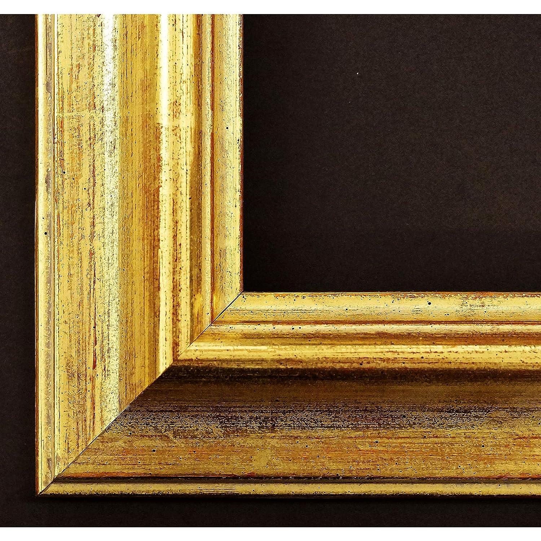 Bilderrahmen Miesbach 4,9 - Echt-Gold handvergoldet - WRP - 10 x 15 ...