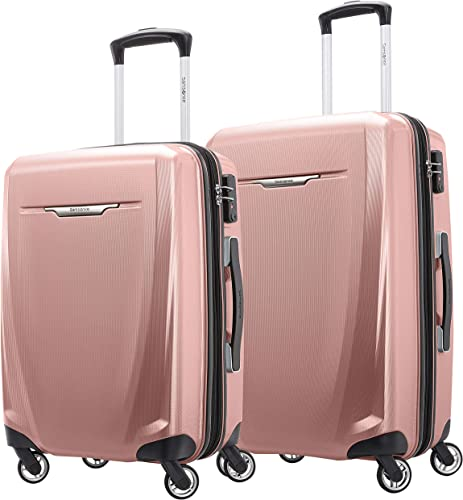 Travel Prime 3-Piece Hardside Spinner Luggage Set ORANGE