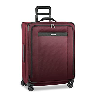 Briggs & Riley Transcend-Softside Expandable Medium Checked Spinner Luggage