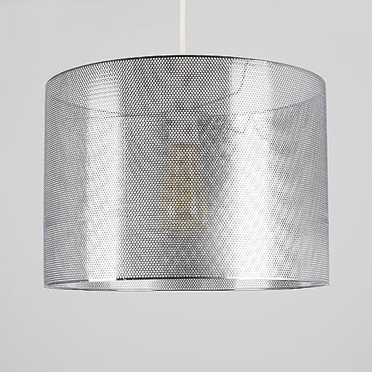 MiniSun - Moderna pantalla de lámpara de techo cilíndrica ...