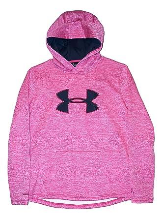 Amazon.com  Under Armour Women s UA Storm Big Logo Hoodie PIP Breast ... 5c4055b33e