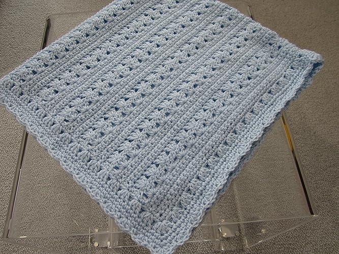 Amazon New Hand Crochet Baby Boy Blanket By Kims Crochet